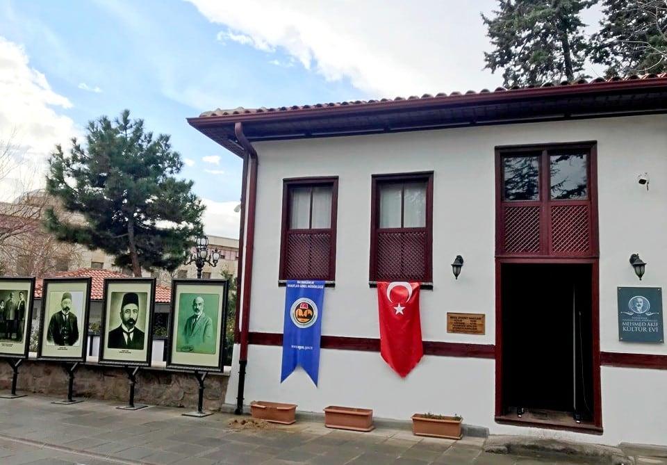 Mehmet Akif Ersoy Evi Ankara Gezilecek Yerler