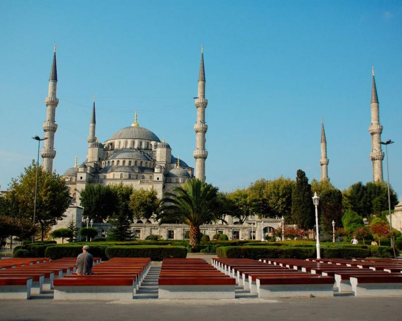 Sultanahmet Meydanı Cami Manzarası