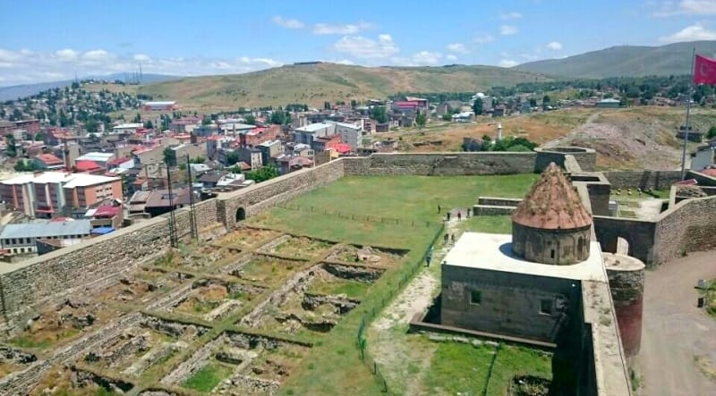 Erzurum Kalesi Gezilecek Yerler