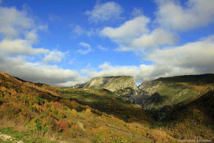 Valla Kanyonu Karadeniz'de Gezilecek Yerler