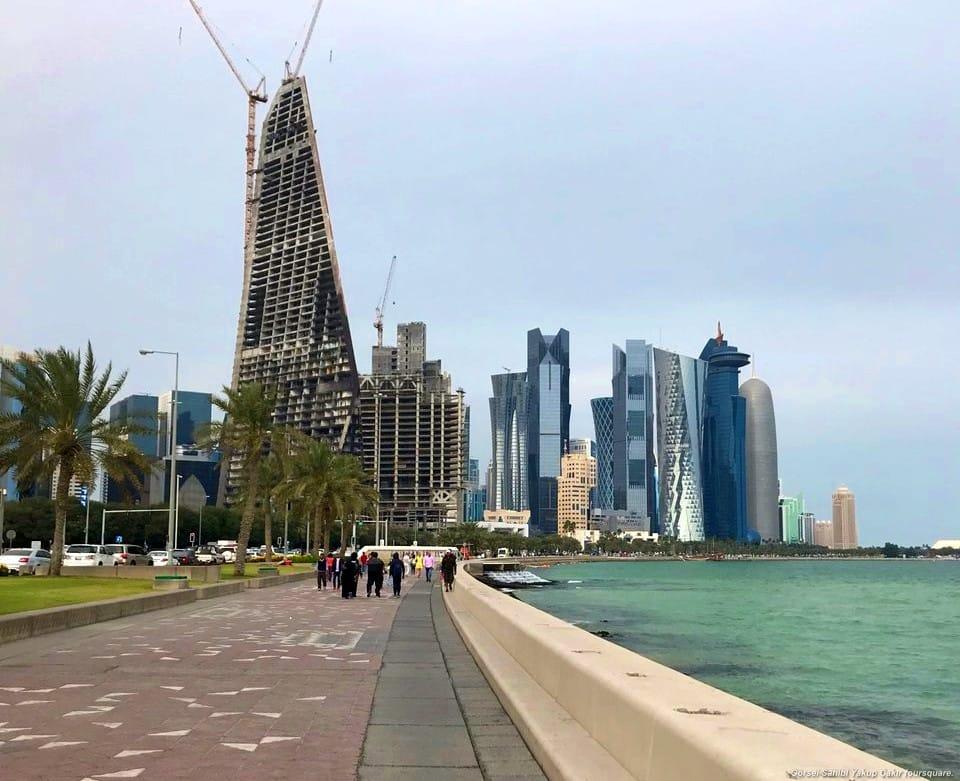 Corniche Katar gezilecek yerler