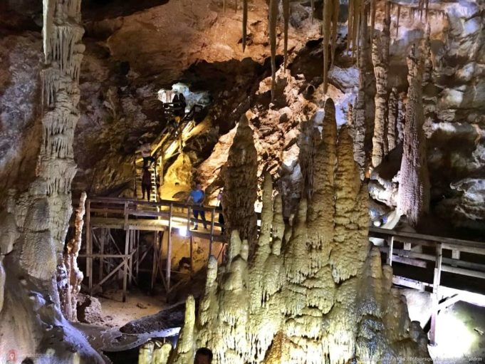 The Cave Of Karaca In Trabzon